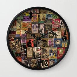 Rock n' roll stories II Wall Clock
