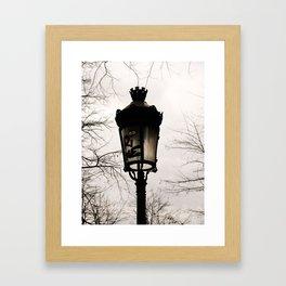 montmartre pt 2 Framed Art Print