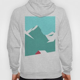 icy mountain Hoody