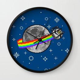 Nyan Space Core Wall Clock