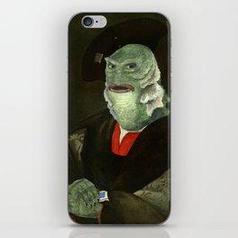 Creature from the Italian Renaissance: Giuliano De Medici meets Black Lagoon iPhone Skin