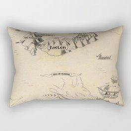 STORM SIREN Map (bk 1) Rectangular Pillow