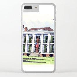 Ducros House, Thibodaux, Louisiana Clear iPhone Case