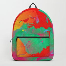 Abstract Paint Gradient Backpack