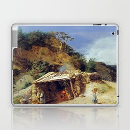 Ferdinand Georg Waldmüller Lime Kiln Hinterbrühl Laptop & iPad Skin