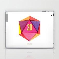 Rolling D20's Like A Big Shot  Laptop & iPad Skin