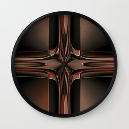 Abstract 350 Wall Clock
