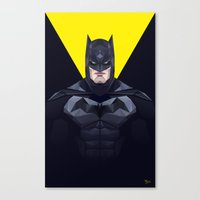 bat man Canvas Prints featuring Bat man by Muito