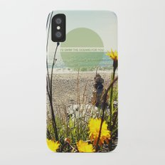I'd Swim The Oceans For You Slim Case iPhone X