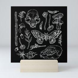 Witchcraft II [Black] Mini Art Print