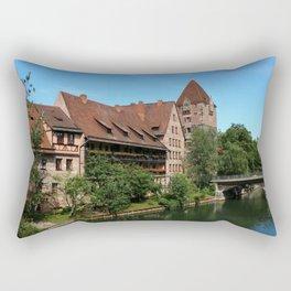 At The Pregnitz - Nuremberg Rectangular Pillow