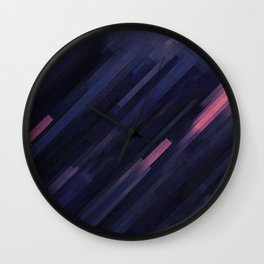 Glitched v.8 Wall Clock