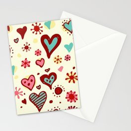 HEART--DRAW Stationery Cards
