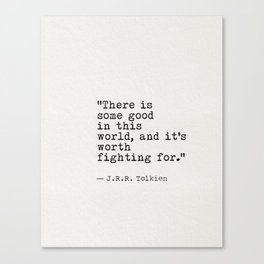old quote JRR Canvas Print