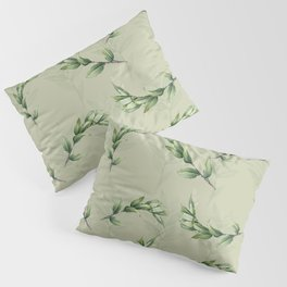 Calming lily of the valley Pillow Sham