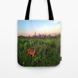The NYC Deer Tote Bag