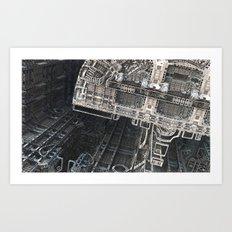 Station 4 by Jean-François Dupuis Art Print