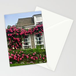 Rose House in Sconset Nantucket Stationery Cards
