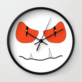 funny halloween monster 2018 Wall Clock