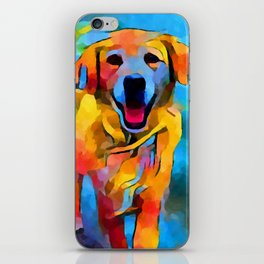 Golden Retriever 3 iPhone Skin