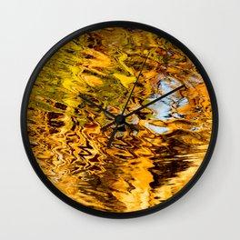 Pandanus Reflection Burgess Creek Wall Clock