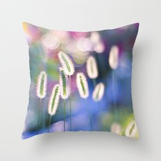 LET THERE BE COLOR Throw Pillow