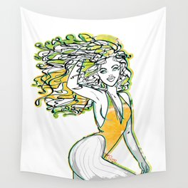 Afrolatina lemonade - 2 - sexy girl Wall Tapestry