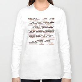 Life's a Game (remix) Long Sleeve T-shirt