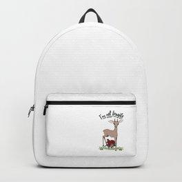 Dik-dik is not fragile, dik-dik is tired of your bullshit. Backpack