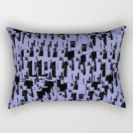 Purple Wood  Rectangular Pillow