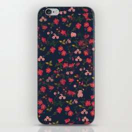 Pink Floral iPhone Skin