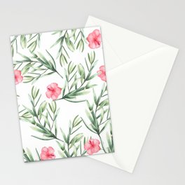 Delicate Hibiscus Stationery Cards