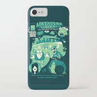 comics iPhone & iPod Cases featuring Adventure Comics by jublin