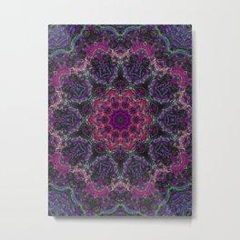 Shadow Mandala Metal Print
