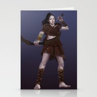 archer Stationery Cards featuring Archer by QianqiJin
