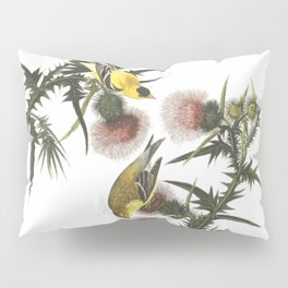 Goldfinch And Thistle Pillow Sham