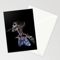 Blood, Breath, Bone Stationery Cards