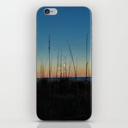 Full Moon Rise at Sunset iPhone Skin