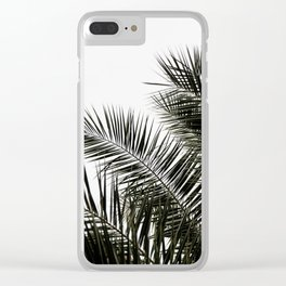 Palm Leaves 3 Clear iPhone Case