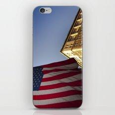 Cornice with flag iPhone & iPod Skin