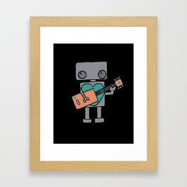 Rockin' Rescue Robot Framed Art Print