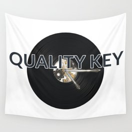 Quality Key: Vinyl Time Wall Tapestry