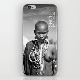 airborne tribe omo valley iPhone Skin