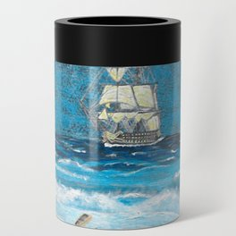 HMS Victory in paradise Can Cooler