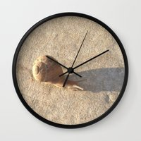 lee pace Wall Clocks featuring Snail's Pace by Geni