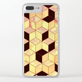 Geometrical Force #1 Clear iPhone Case