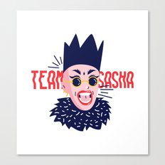 Team Sasha Canvas Print