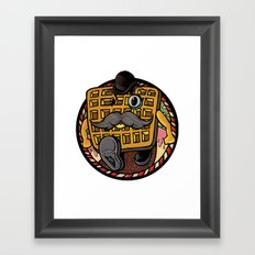 Distinguished Waffleman. Framed Art Print