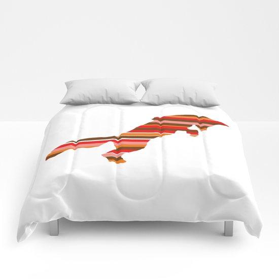 Fox Stripes Comforters