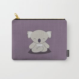 Kawaii Cute Koala Meditating Carry-All Pouch